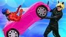 Леди Баг иСупер-Кот! Кукла Барби устроила погром вавтосервисе! Мыстали Леди Баг и Суперкотом!