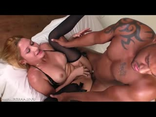 Horny brazilian shemales ass raided by black cock