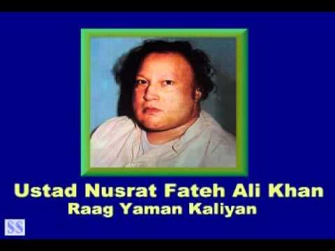 Raag Eman Yaman Kaliyan By Ustad Nusrat Fateh Ali Khan flv