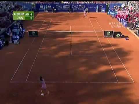 Dementieva VS Jankovic Berlin 2008 Highlights