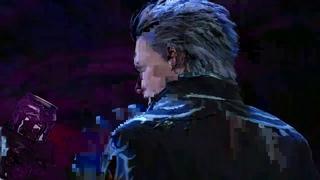 vergil breaks rebellion, mocks dante and drinks monster energy...
