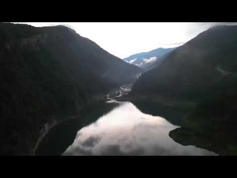 Мотопутешествие по Абхазии Озеро Амткел перевал Волчьи ворота
