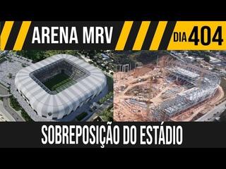ARENA MRV   7/7 SOBREPOSIÇÃO DE IMAGENS DO ESTÁDIO   06/06/2021