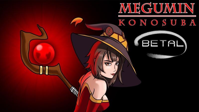 Рисуем Мегумин Богиня благословляет этот прекрасный мир Megumin KonoSuba