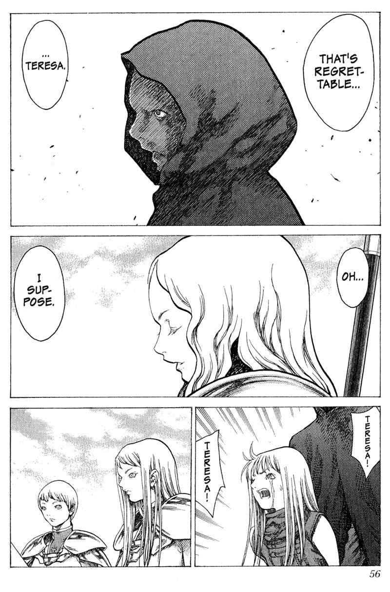 Claymore, Chapter 17, image #16