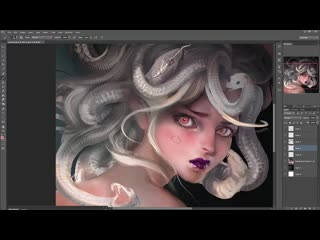 SakimiChan ART term 6 - medusa_vidProcess