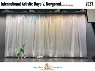 International Artistic Days  Festival&Contest NV 1039 2021, Pynnik Mariia