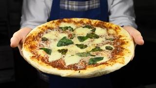 НАСТОЯЩАЯ ПИЦЦА МАРГАРИТА на тонком тесте как в пиццерии!
