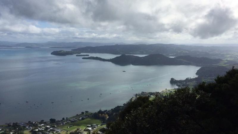 Whangarei New Zealand - Climbing the Rock