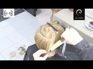 Short pixie hairtrend undercut extreme haircut makeover  dying purple