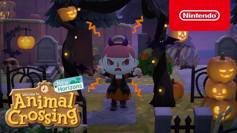 Готовьтесь к Хэллоуину в Animal Crossing New Horizons с обновлением от 30 сентября