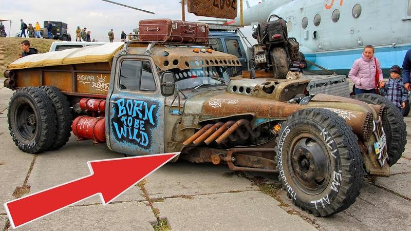 Soviet GAZ 53 Truck Handmade Hot Rod Gaz 53 Tuning Homemade car