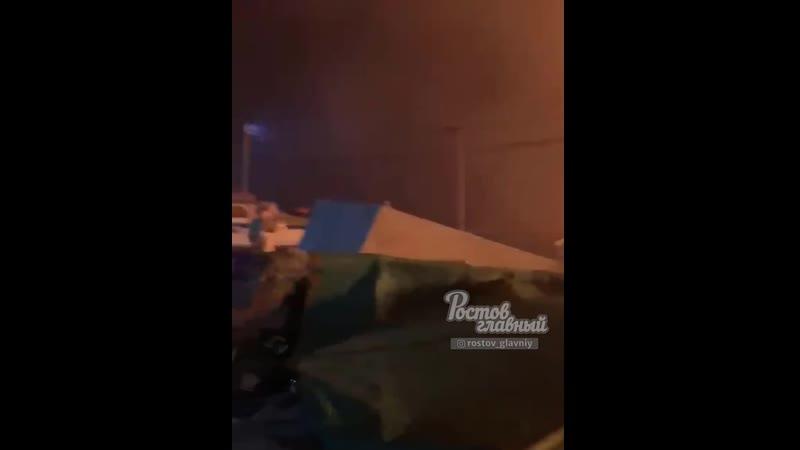 Пожар в Азове на острове возле лодочной станции 1 10 2020 Ростов на Дону