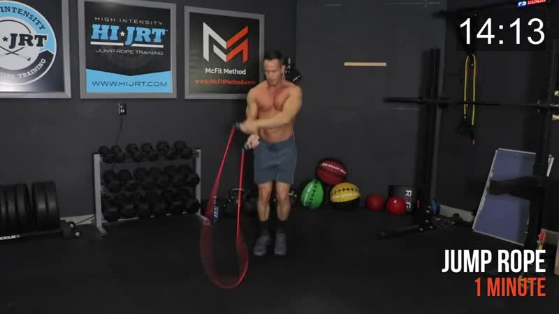 Burn 500 Calories FAST Jump Rope Bodyweight Workout