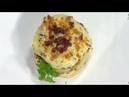 Lasaña de patatas con carne