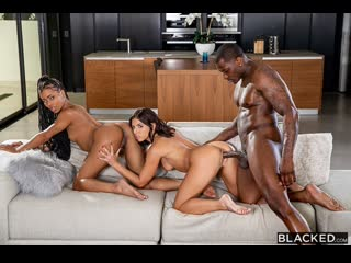 Adriana Chechik, Kira Noir - Lazy Sunday - Porno, Threesome, Blowjob, IR, Ebony, Natural TIts, Hardcore, Gonzo, Porn, Порно