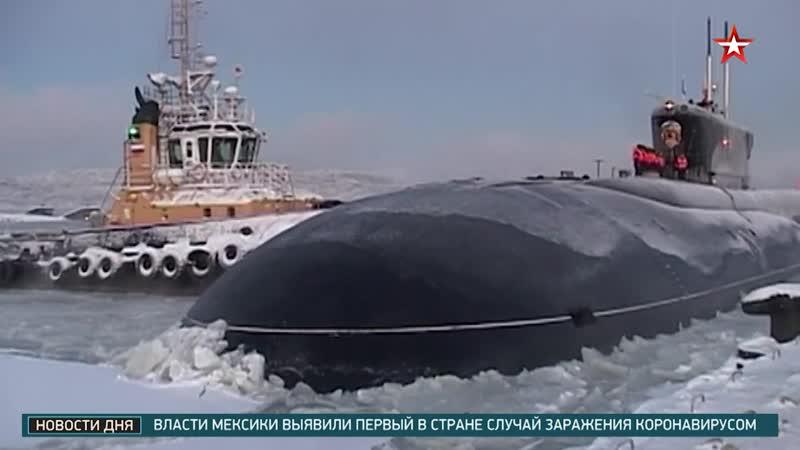 Северный флот получит более 180 единиц вооружения и техники адаптированных для Арктики