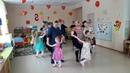 Танец девочек с мамами на 8 марта в детском саду