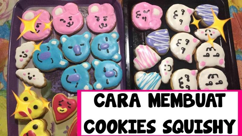 CARA MEMBUAT COOKIES SQUISHY HOW TO MAKE SQUISHY COOKIES