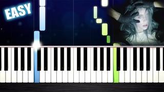 Billie Eilish - bury a friend - EASY Piano Tutorial by PlutaX