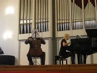 """Илья  Мищенков - """"Элегия"""" для виолончели и фортепиано"""