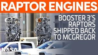 Raptor Engines Shipped Back to McGregor as GSE Tanks Progress   Starship Boca Chica