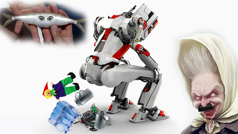 Роботы наступают Школы по бидонически Мутотень и минералка Сказки всего мира