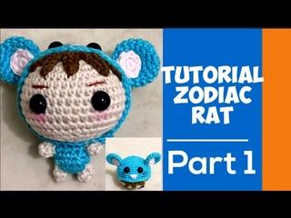 How To Crochet Rat | Amigurumi Rat Costum | Doll Amigurumi |Вязание | Amigurumi Tutorial | Part 1