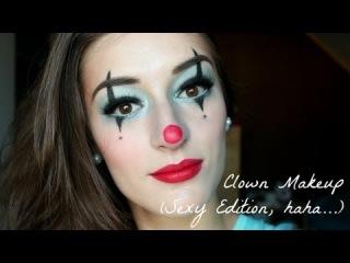 Clown Makeup Tutorial (Sexy Edition..)
