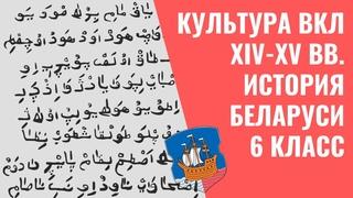 Культура ВКЛ XIV-XV вв.   История Беларуси, 6 класс