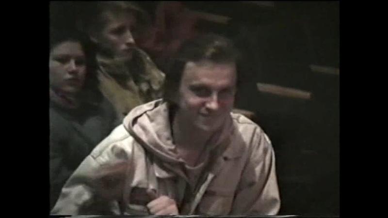 Концерт в Иглинском РДК с участием группы Каир 1995 год