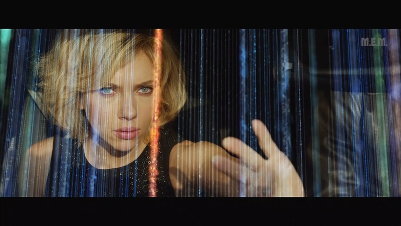 Lucy 2014 Brain usage 50 60% Cool Epic Scenes 1080p