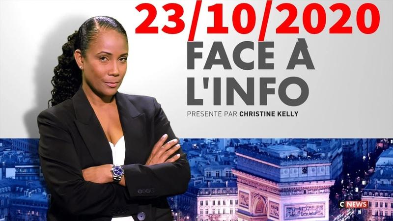 Face à l'info du 23 10 2020 Eric Zemmour face à Michel Onfray
