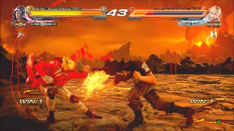 This is TEKKEN 7 STEVE FOX Epic Dodges Sidesteps Compilation 2 🥊