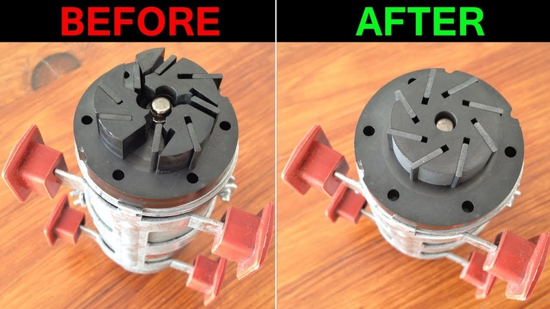 How to fix a central locking vacuum PUMP broken ROTOR Mercedes SL R230 CL C215 S W220