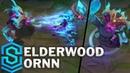Elderwood Ornn Skin Spotlight - Pre-Release - League of Legends