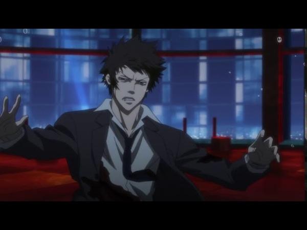 Психопаспорт Аканэ Цунэмори против Сего Макишима бой
