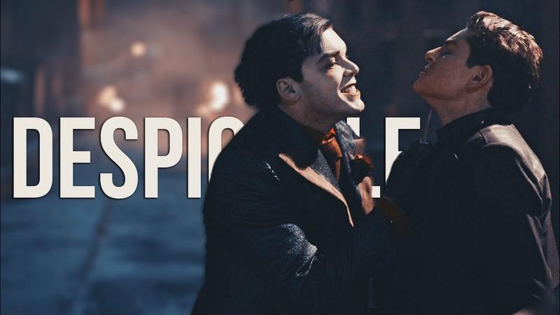 Gotham || Despicable || Jeremiah Valeska Bruce Wayne ( Selina Ecco)