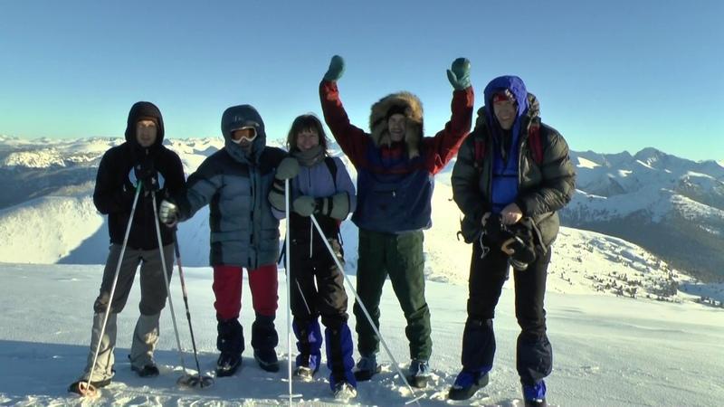 На лыжах по горам Северо Восточного Алтая