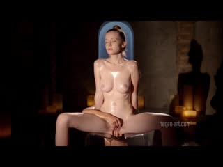 2013-10-08 emily naked nuru chair massage