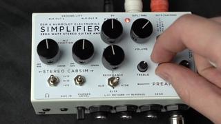 Simplifier Zero Watt Guitar Amplifier Demo