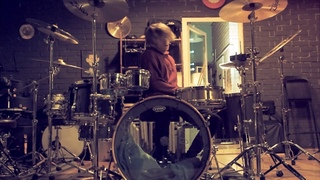 Red Hot Chili Peppers - Drum duo cover  - Give it away + Get on top. Not Drunk, not getting high