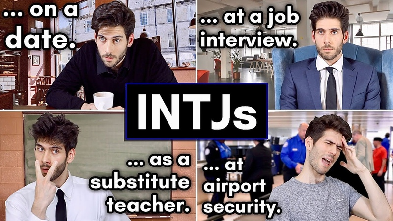 Funny INTJ 16 Personalities Sketch Highlights INTJ Only