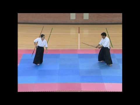 Aikido Demo - bokken vs. bo