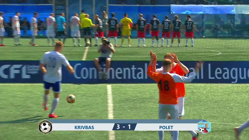 CFL 2019 Group Stage Highlights Krivbass Polet