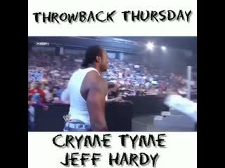 Cryme Time (Shad Gaspard & JTG) & Jeff Hardy