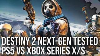 Destiny 2 PS5 vs Xbox Series X|S - A True Next-Gen Advantage