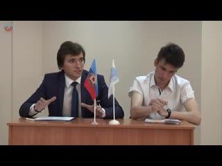 Дебаты кандидатов в депутаты Молодежного парламента Луганской Народной Республики