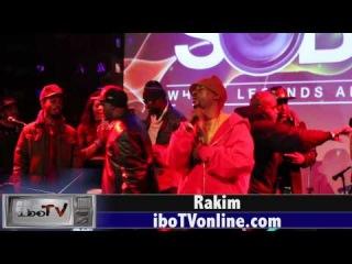 Rakim Performs @ SOBs with DJ Clark Kent, DJ Kool Herc, & Michael K. Williams