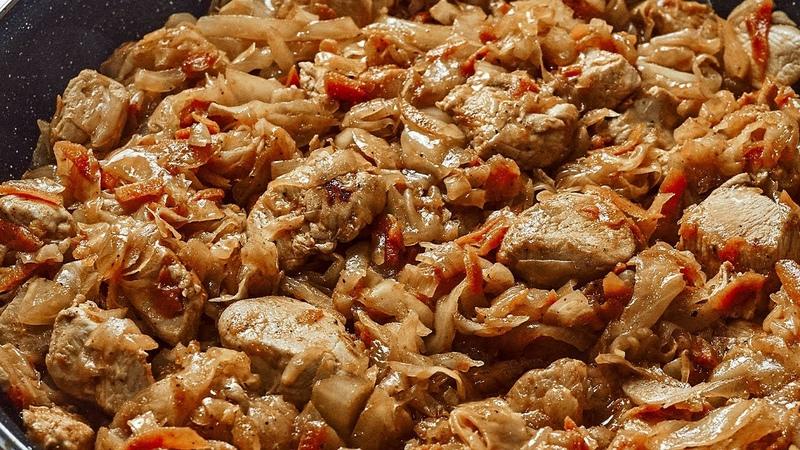 Iau o varză puțină carne și gătesc această cină rapidă incredibil de delicioasă Recomand